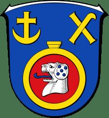 Wappen der Stadt Weiterstadt